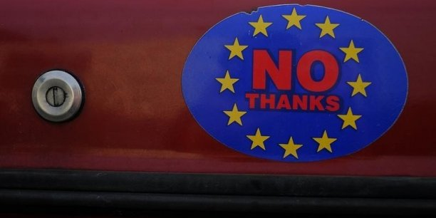 Un possible brexit pese sur la croissance britannique
